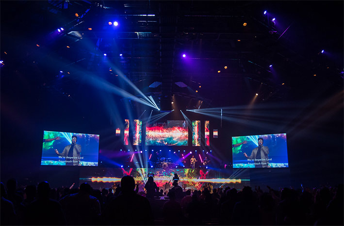 Panasonic Projectors for Worship